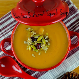 Roasted Buttenut Squash Soup