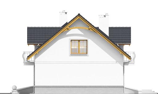 Dom Dla Ciebie 1 bez garażu B - Elewacja prawa
