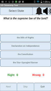 US Citizenship Test - náhled