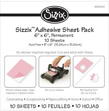 Sizzix Adhesive Sheets 6X6 10/Pkg