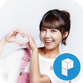 Sweety Apink Launcher Theme