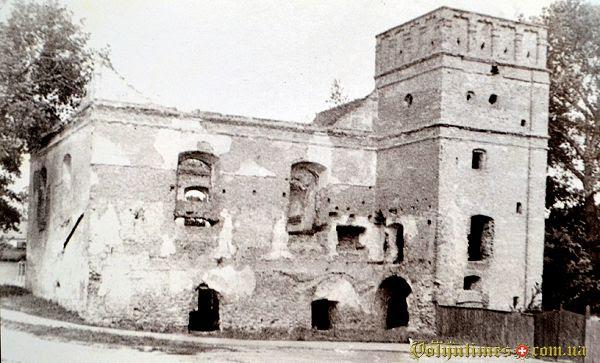 Руїни синагоги в післявоєнний період