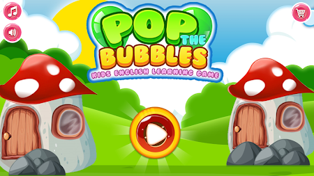 Pop the Bubbles – Kids English Learning Game APK screenshot thumbnail 1