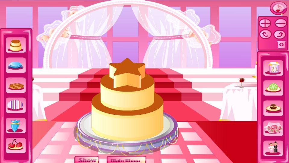 Cake wedding decoration game android apps on google play for Amazing wedding cake decoration game