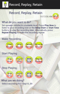 Record, Replay, Retain screenshot 1
