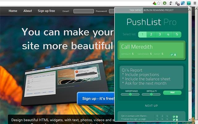 PushList Pro
