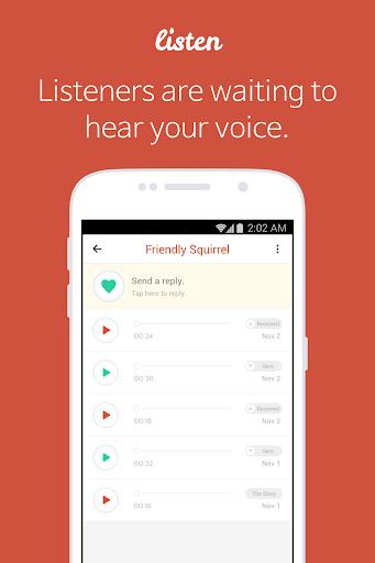Listen - Voice Only SNS  screenshots 3