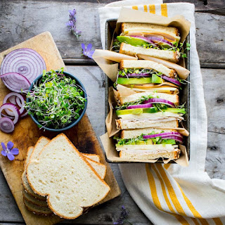Turkey Sandwich with Avocado and Sprouts Recipe