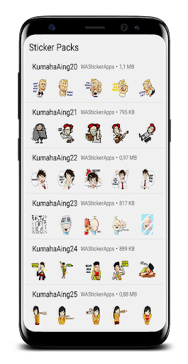 Sticker Sunda Lucu For WhatsApp - WAStickerApps 9.9 screenshots 2