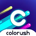 Colorush - Addictive Game icon