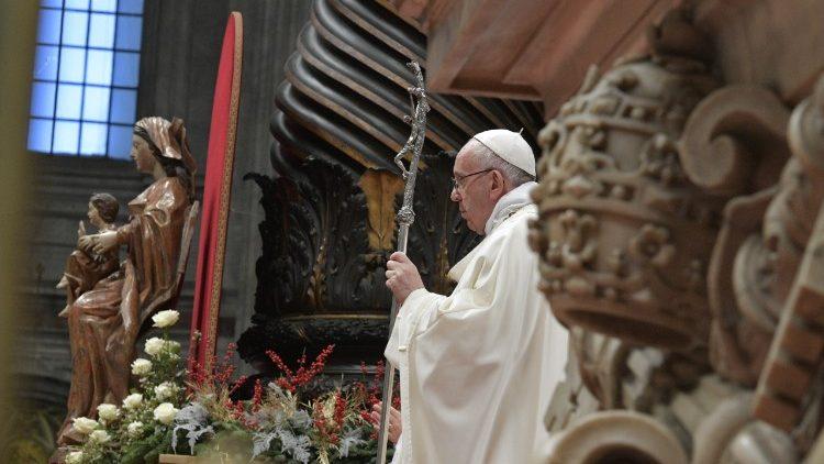 Bài giảng của Đức Thánh Cha Thánh Lễ Đầu Năm 2018: toàn văn