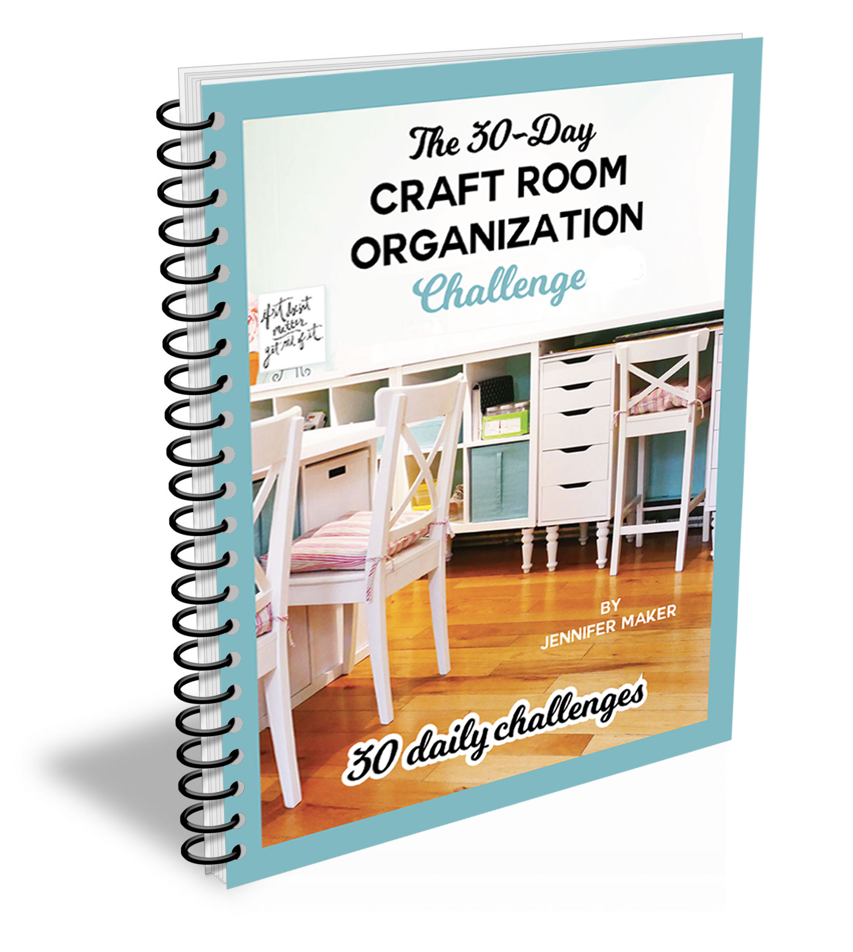 Click here to join the 30-Day Craft Room Organization Challenge