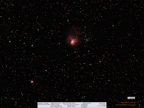 Photo: A view of NGC1931, aka The Little Orion Nebula from last December. It's a mix of Ha and LRGB.