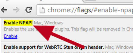 NPAPI plugins don't work on Chrome version 42 and higher - Chrome Help