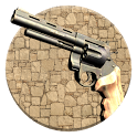 Revolver. Russian Roulette icon