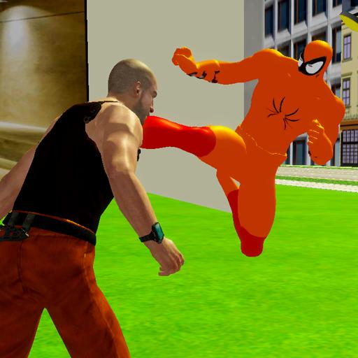 Flying Spider Hero City Rescuer