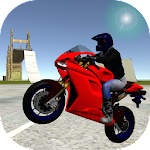 Motorbike Driving Simulation