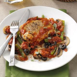 Italian-Style Pork Chops.
