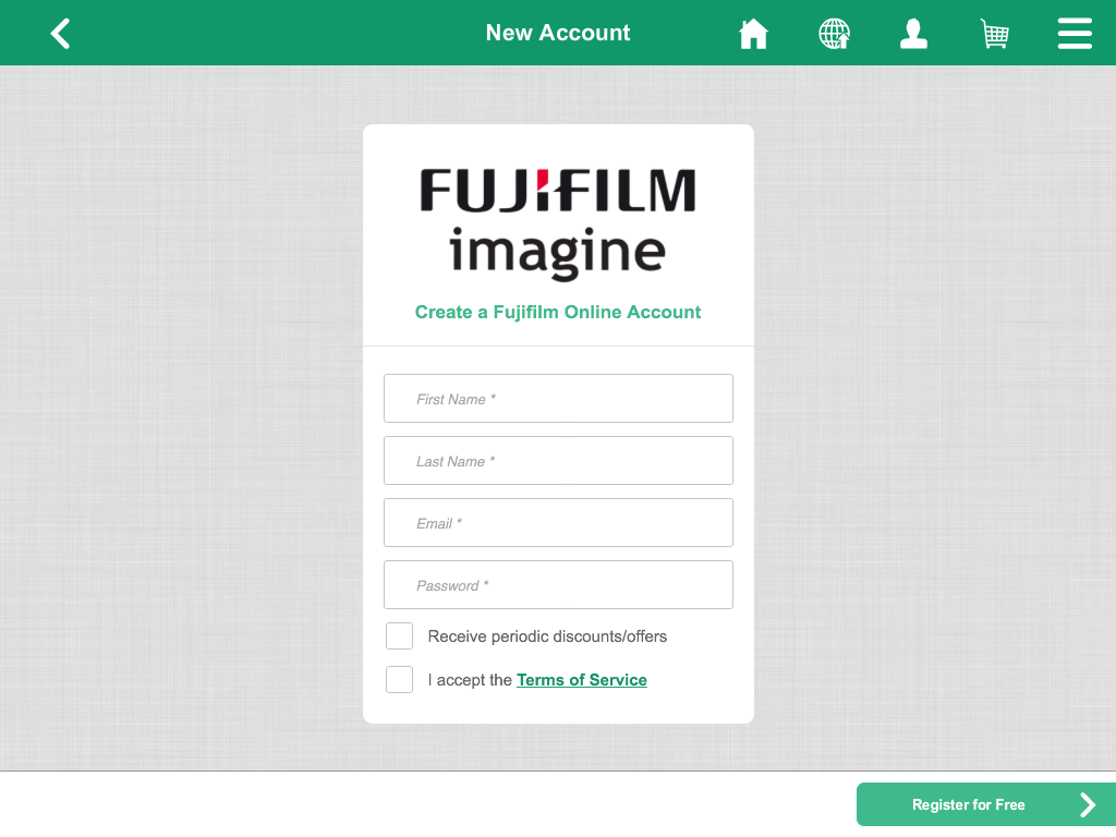 FUJIFILM Imagine- screenshot