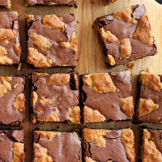 Peanut Butter Cobbler Brownies.