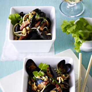 Asian Mussels with Pork