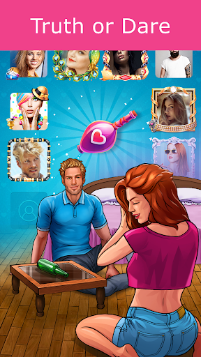 Kiss Kiss: Spin the Bottle for Chatting & Fun 4.8.51005 screenshots 2