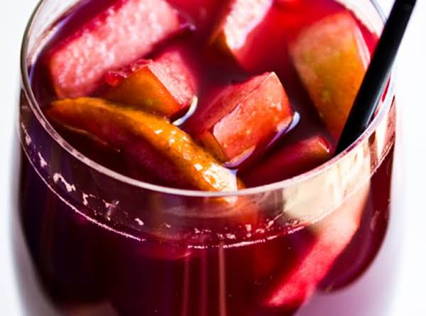 Mom's Red Sangria Recipe