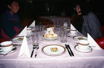 Photo: 03378 ウランバートル/ホテル/食事/ゼリー寄せ