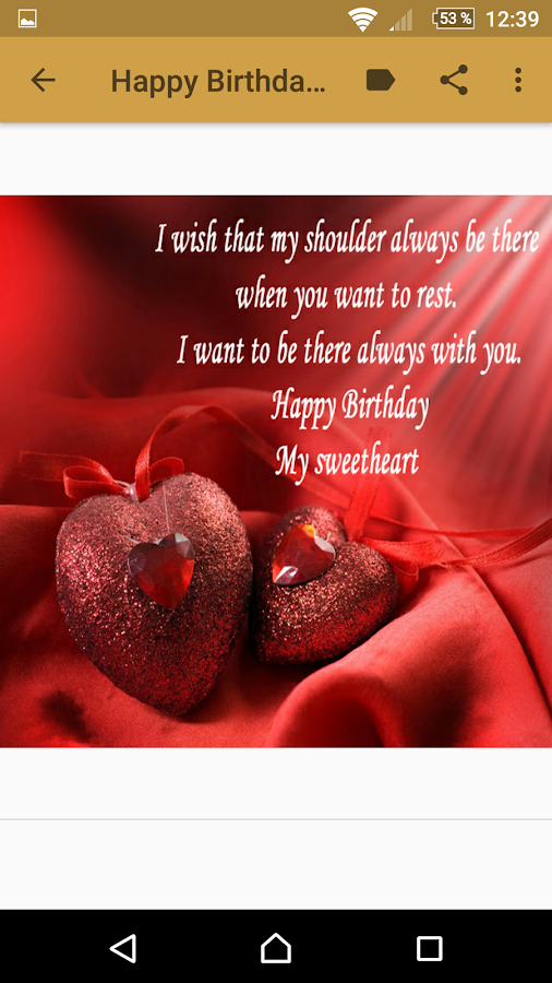 Love Quotes For My Love Mesmerizing Happy Birthday My Love Quotes  Android Apps On Google Play