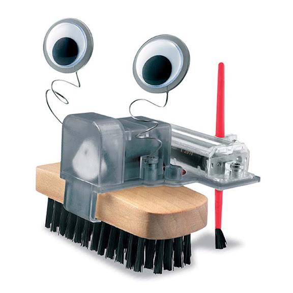 Contenido de 4M Robot Cepillo