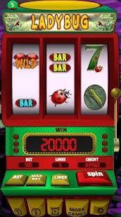 Lady Bug Slot Machine