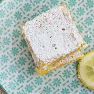 Gluten Free Lemon Bars.