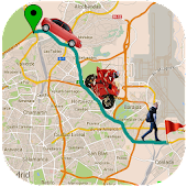 GPS Driving Route Maker