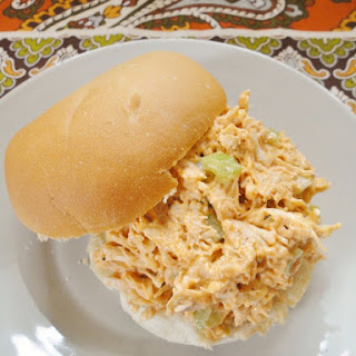 Ranch Buffalo Chicken Salad