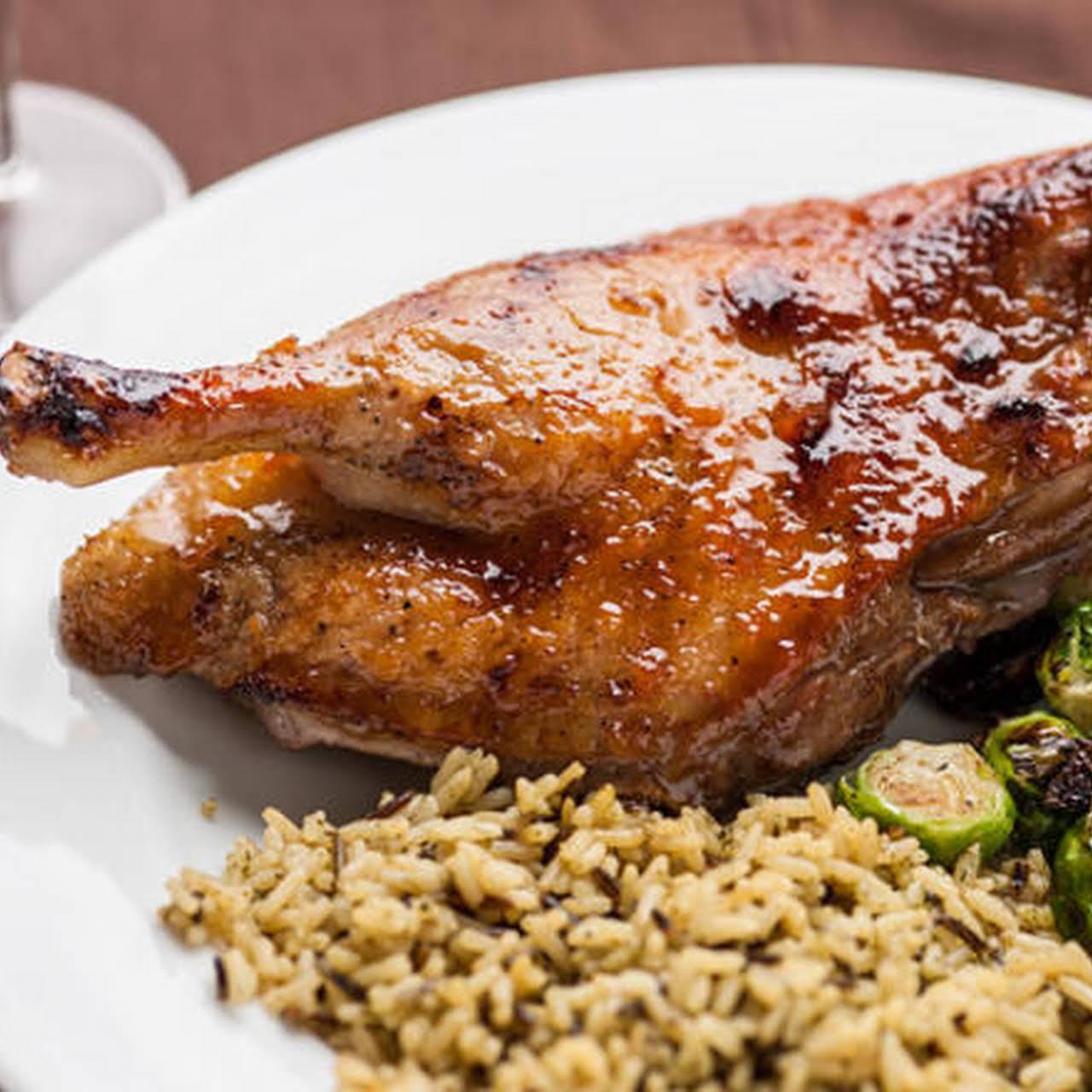 Marmalade-Glazed Roast Duck