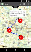 Screenshot of Brandenburg APP
