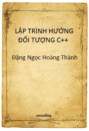 Giáo trình lập trình C++ - Cao đẳng CN Huế