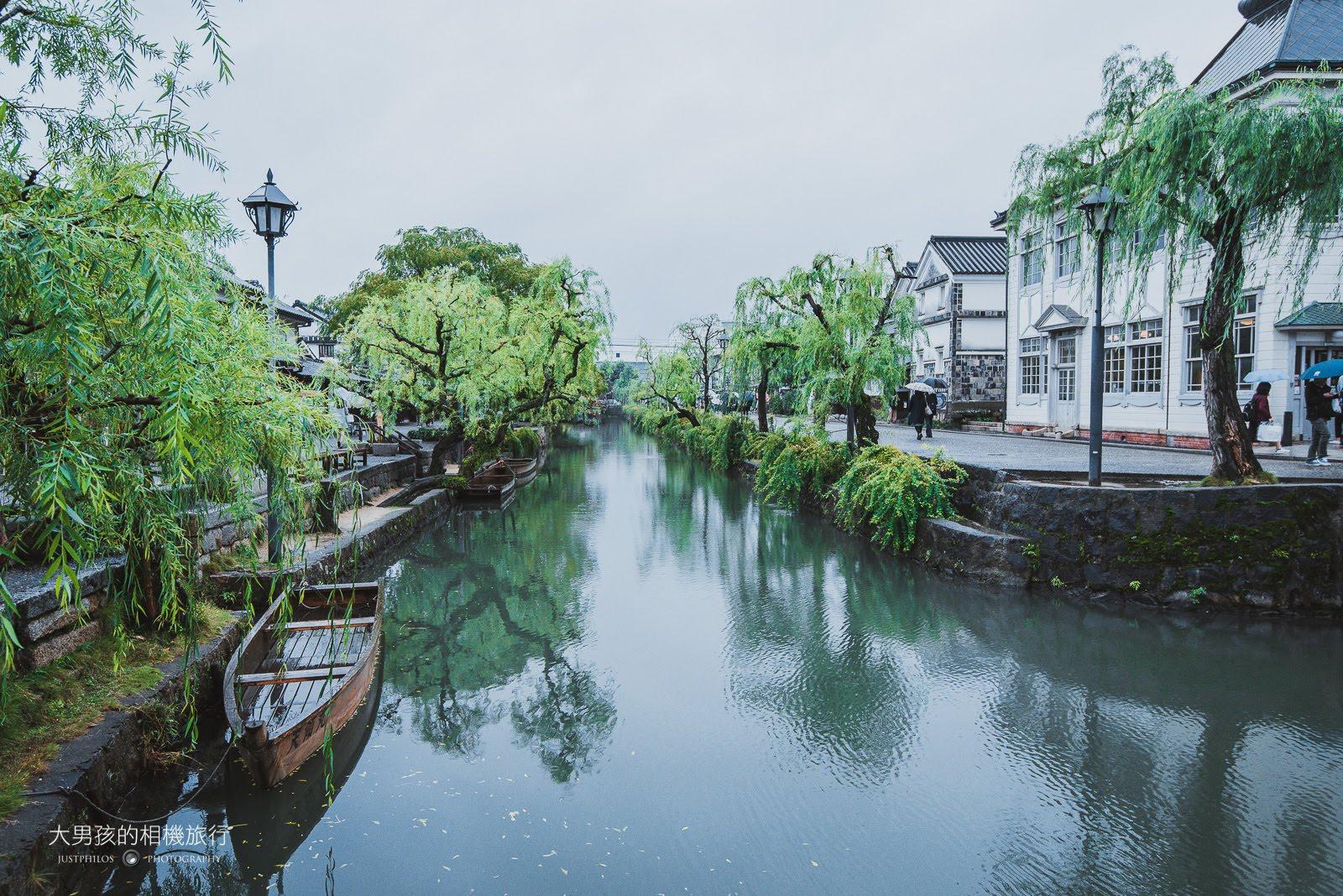 倉敷美觀地區以倉敷川兩側的白璧建築為主體,與倉敷川本身形成倉敷美觀地區最美麗的景色。