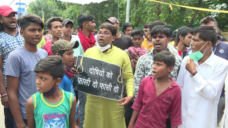 India, Delhi: Protests after 9 year-old Dalit girl allegedly raped and  murdered - CNN
