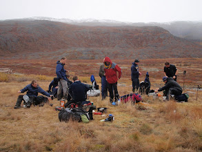 Photo: Greenland - Day 4 - resting by the new bridge
