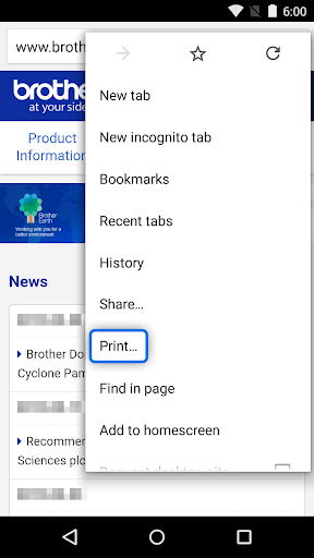 Screenshot for Brother Print Service Plugin in United States Play Store