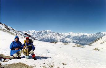 Photo: Thorong La pas 5400 m.