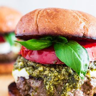 Caprese Burger Recipes