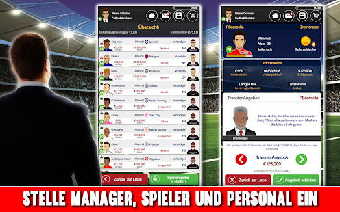 Club Soccer Director 2018 - Fußball-Club-Manager Screenshot