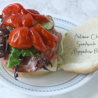 Artisan Chicken Sandwich with Peppadew Peppers