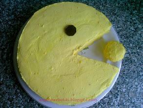 Photo: Torták - Citromos Pacman torta