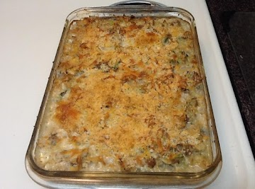 Creamy Ground Turkey Noodle Casserole Recipe