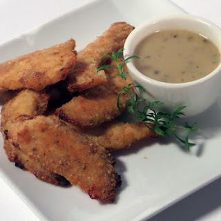 Crispy Parmesan Chicken Strips Recipe