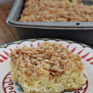 Pineapple Coffee Cake with Streusel Topping