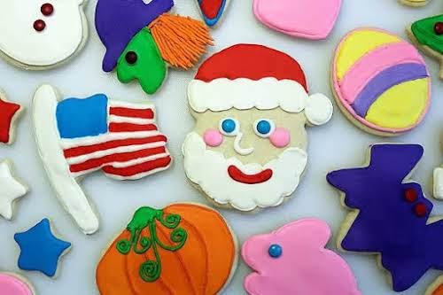 """Sugar Cookies""""This is a delicious cookie to make. Wonderful to make around..."""